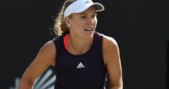 Caroline Wozniacki became the finalist of the tournament in Charleston