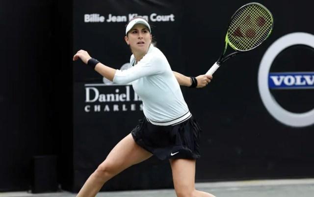 Charleston. Belinda Bencic advanced to the quarterfinals