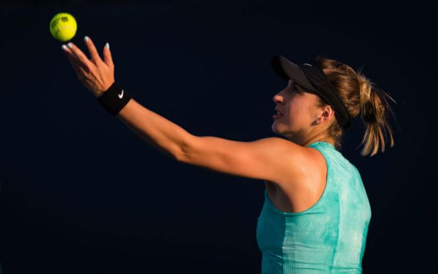 Charleston. Belinda Bencic became the participant of the second round