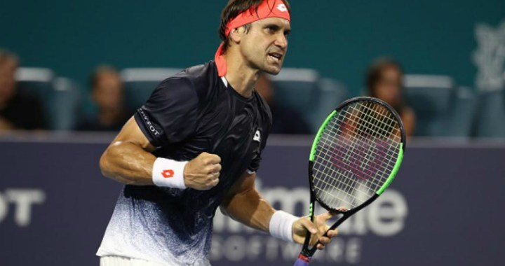David Ferrer continues performance in Barcelona