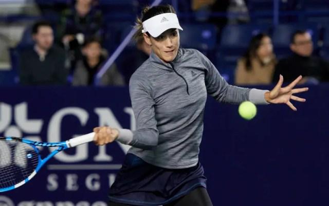 Garbine Muguruza took over Kristina Mladenovic in Monterrey
