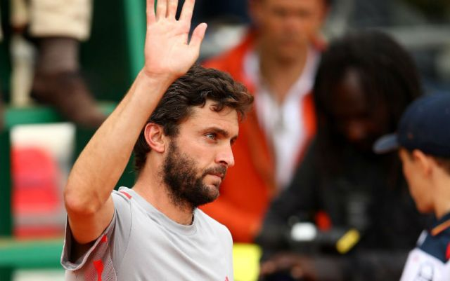 "Gilles Simon withdrew from the ""Masters"" in Monte Carlo"
