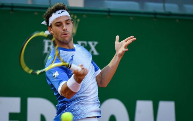 "Marco Cecchinato out of the fight at the ""Masters"" in Monte Carlo"