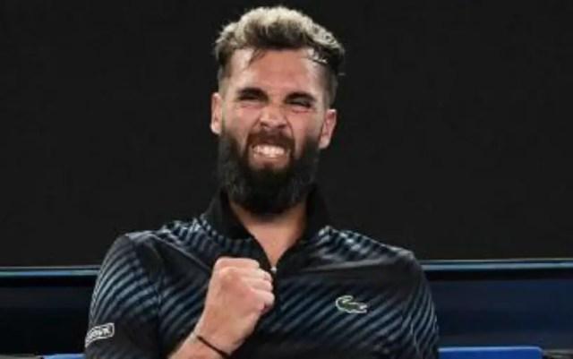 Marrakesh. Benoit Paire went to the quarterfinals