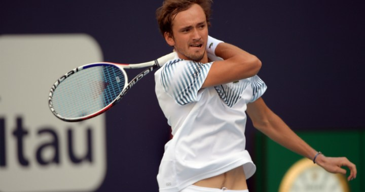 Monte Carlo. Daniil Medvedev gave his opponent only two games