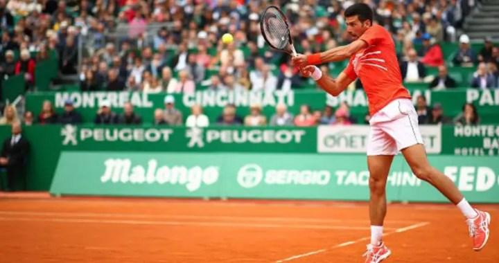 Novak Djokovic successfully began his performance at the Masters in Monte Carlo