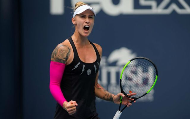 Polona Hercog will play in the final of the tournament in Lugano