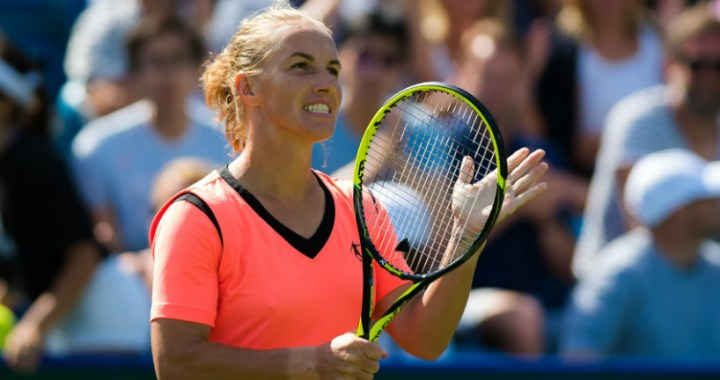 Svetlana Kuznetsova was defeated in the quarter finals of the tournament in Lugano