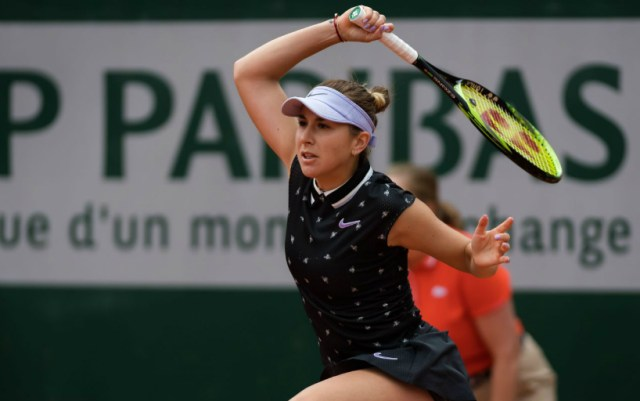 Belinda Bencic advanced to the third round of the French Open