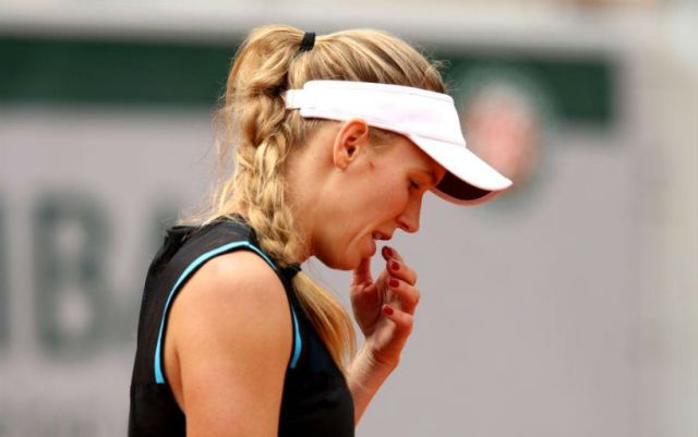 Caroline Wozniacki: I am very disappointed