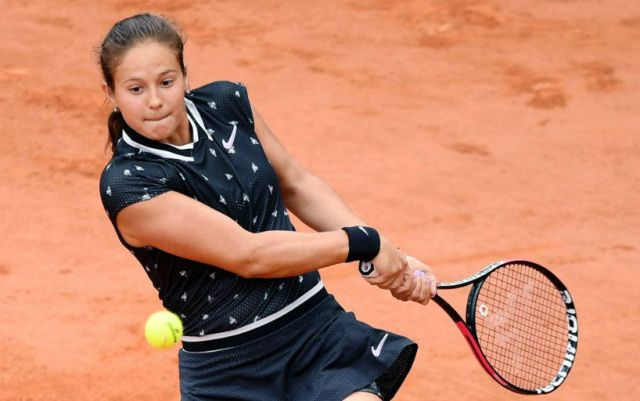 "Daria Kasatkina finished the fight on the ""Roland Garros"""