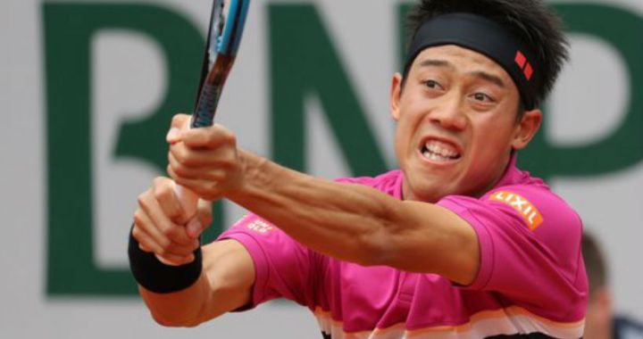 French Open. Kei Nishikori defeated Jo-Wilfried Tsonga