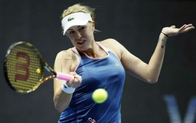 Madrid. Anastasia Pavlyuchenkova took only three games in the match with Jelena Ostapenko