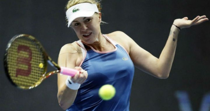 Madrid. Anastasia Pavlyuchenkova took only three games in the match with Jelena Ostapenko