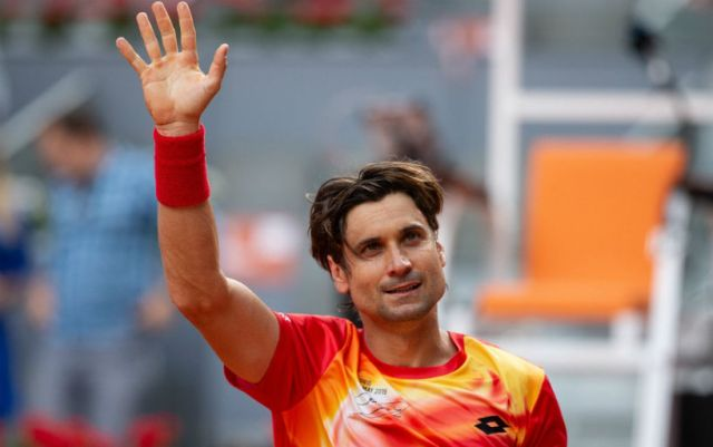 Madrid. David Ferrer lost to Alexander Zverev in his last match in his career