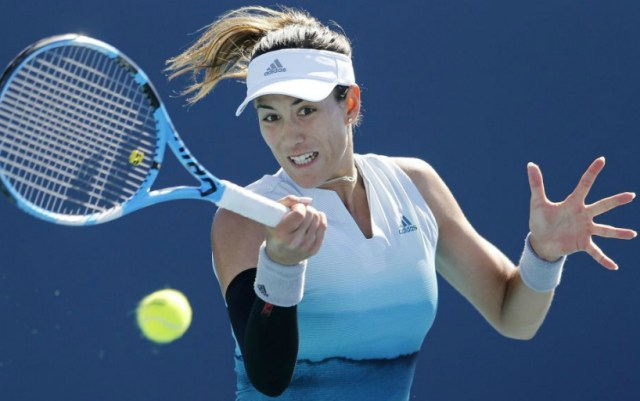 Madrid. Garbine Muguruza was defeated in the first round