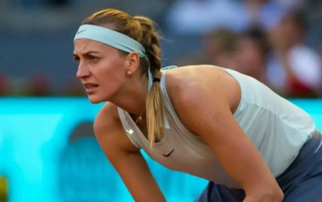 Madrid. Petra Kvitova lost to Kiki Bertens
