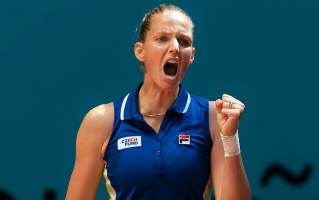Mutua Madrid Open. Karolina Pliskova defeated Dayana Yastremska