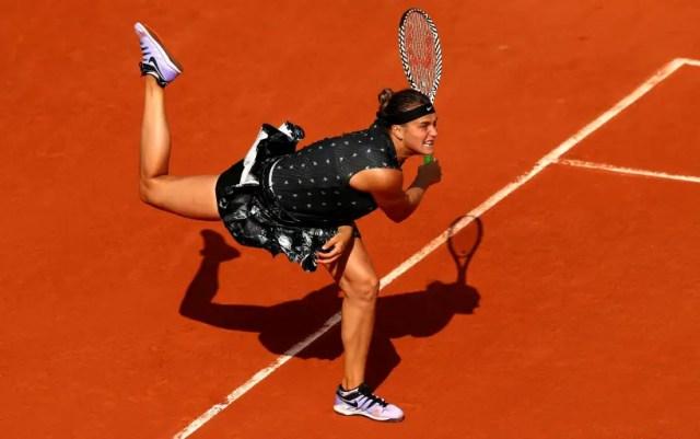 Paris. Aryna Sabalenka failed to cope with Amanda Anisimova