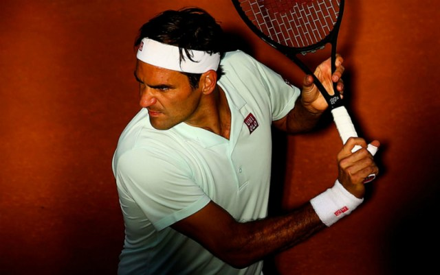 Paris. Roger Federer successfully started at the tournament