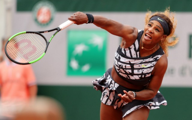 Paris. Serena Williams gave her opponent only five games