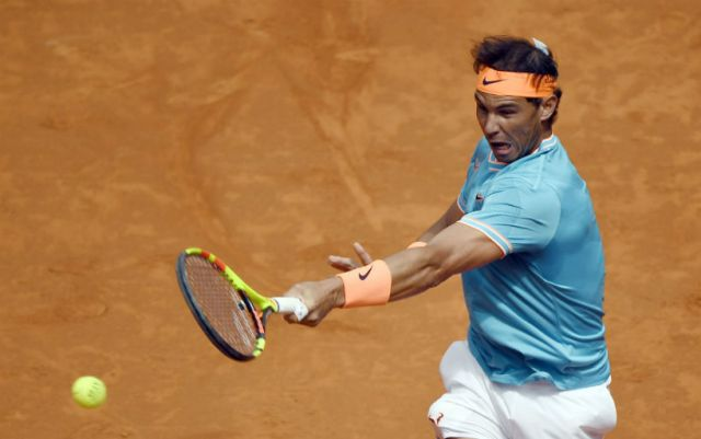 Rafael Nadal successfully launched at the Masters in Madrid