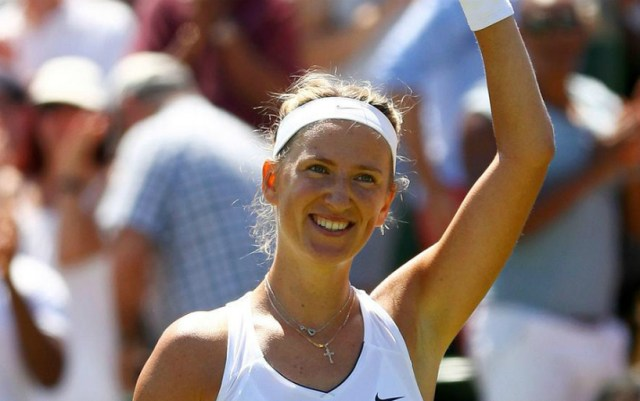 Rome. Victoria Azarenka gave only three games to her opponent