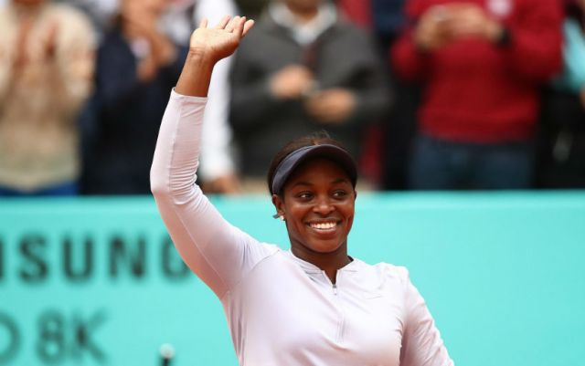 Sloane Stephens became the semifinalist of the Madrid tournament