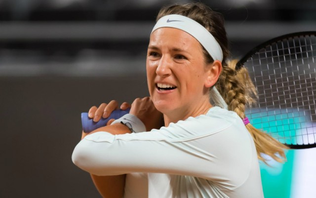 Victoria Azarenka: Svitolina and I have not played official matches for a long time.