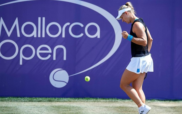 Angelique Kerber became the semi-finalist of the competition in Mallorca