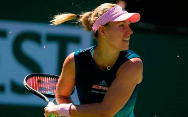 Angelique Kerber won match in the second round of Eastbourne competition