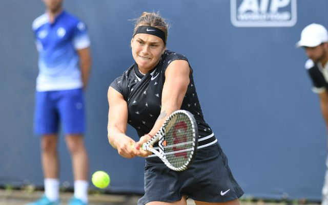 Aryna Sabalenka completed her performance in Birmingham