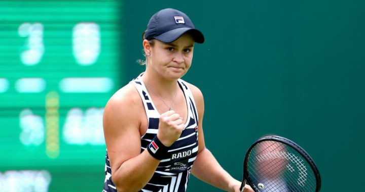 Ashleigh Barty made it to the quarterfinal of the tournament in Birmingham