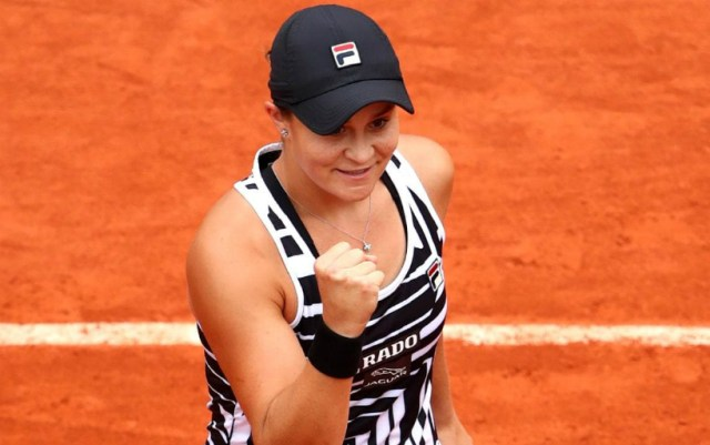 "Ashleigh Barty became the finalist for ""Roland Garros"""