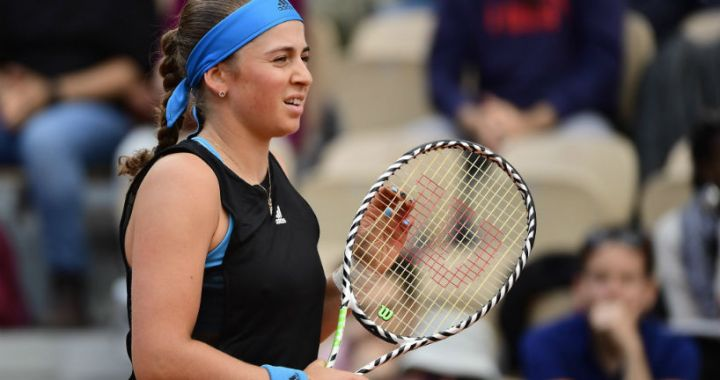 Birmingham. Jelena Ostapenko defeated Johanna Konta