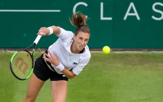 Birmingham. Petra Martic defeated Jelena Ostapenko