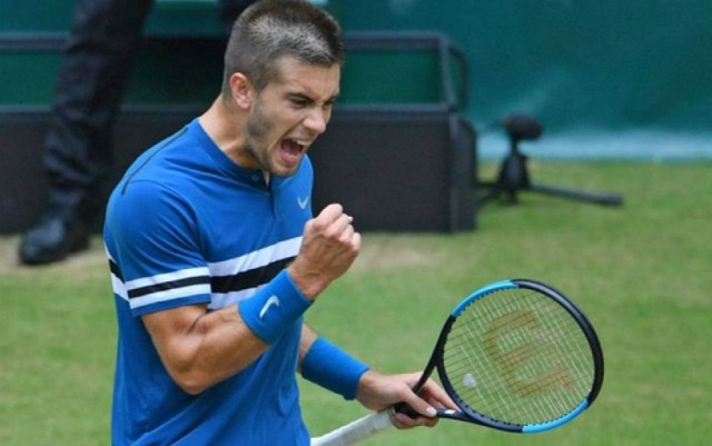 Borna Coric: I started to fold things, but I was able to change the course of the match.