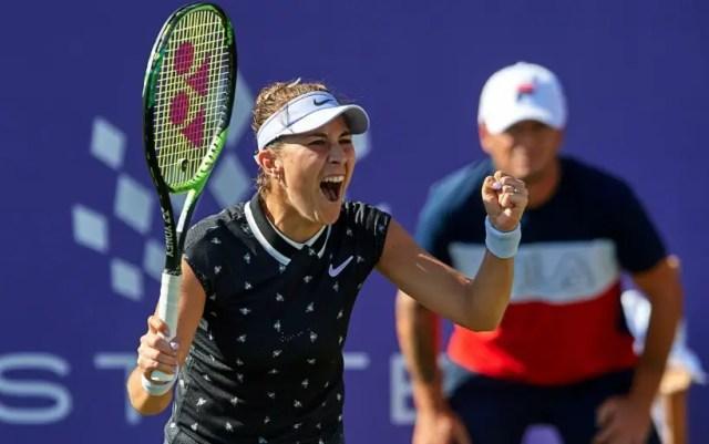 Eastbourne Belinda Bencic defeated Veronika Kudermetova