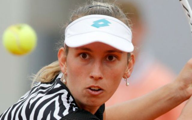 Elise Mertens lost to Catherine Alexandrova at the tournament 's-Hertogenbosch