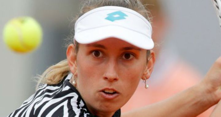 Elise Mertens lost to Catherine Alexandrova at the tournament 's-Hertogenbosch