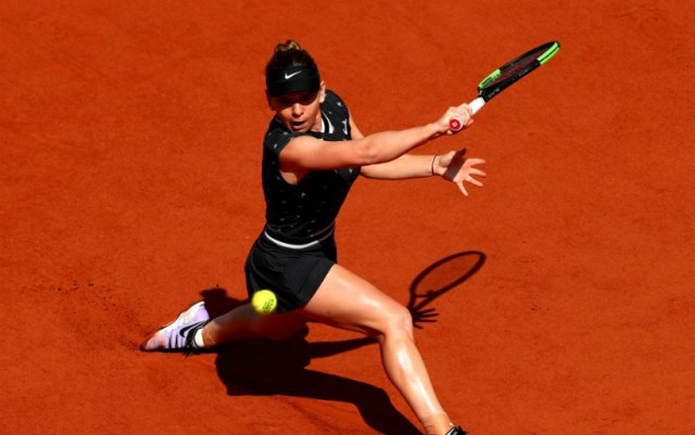 French Open. Simona Halep gave only one game to her rival