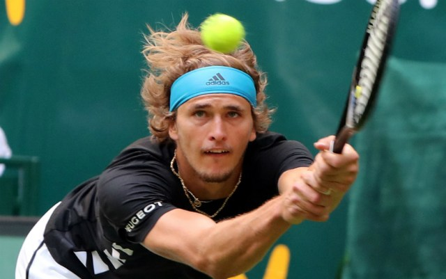 Halle. Alexander Zverev lost to David Goffin