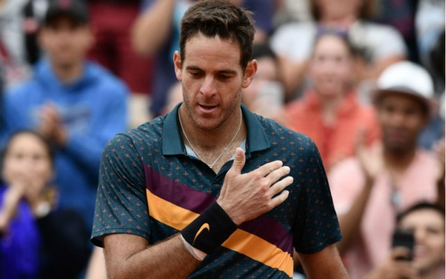Juan Martin Del Potro: Thank you all for your support, I really appreciate it