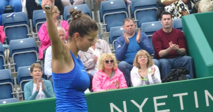 Julia Goerges defeated Dayana Yastremska in Birmingham