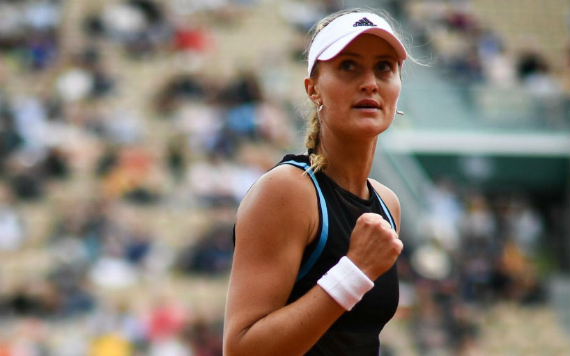 Kristina Mladenovic: It seems that in recent days I have played on all possible coverages_5d022252c2af3.jpeg