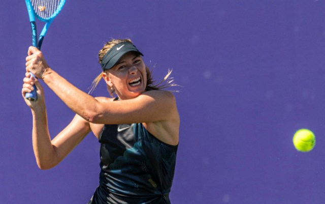 Mallorca. Maria Sharapova failed to cope with Angelique Kerber