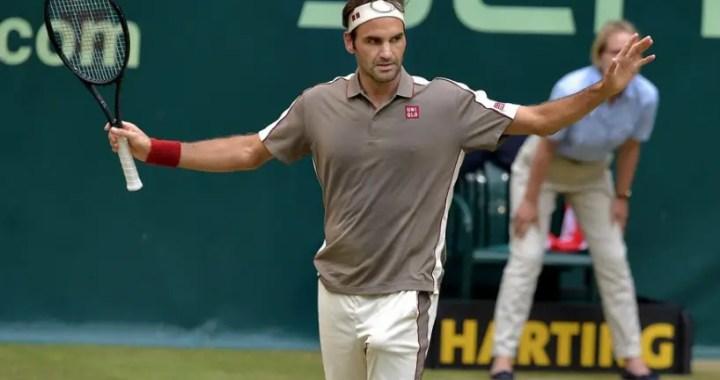 Roger Federer won the title in Halle