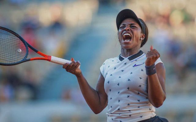 Sloane Stephens: They say that one photo is better than a thousand words