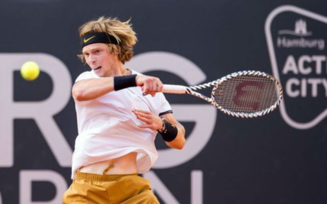 Andrey Rublev lost in the final tournament in Hamburg