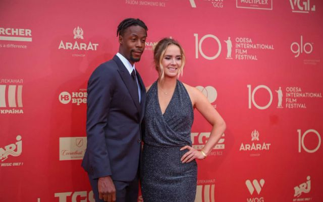 Elina Svitolina and Gael Monfils visited the Odessa Film Festival